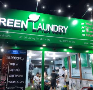 Green Laundry – a reliable dry-cleaning and laundry service in Da Nang