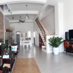 French style house for rent in Danang with a skylight