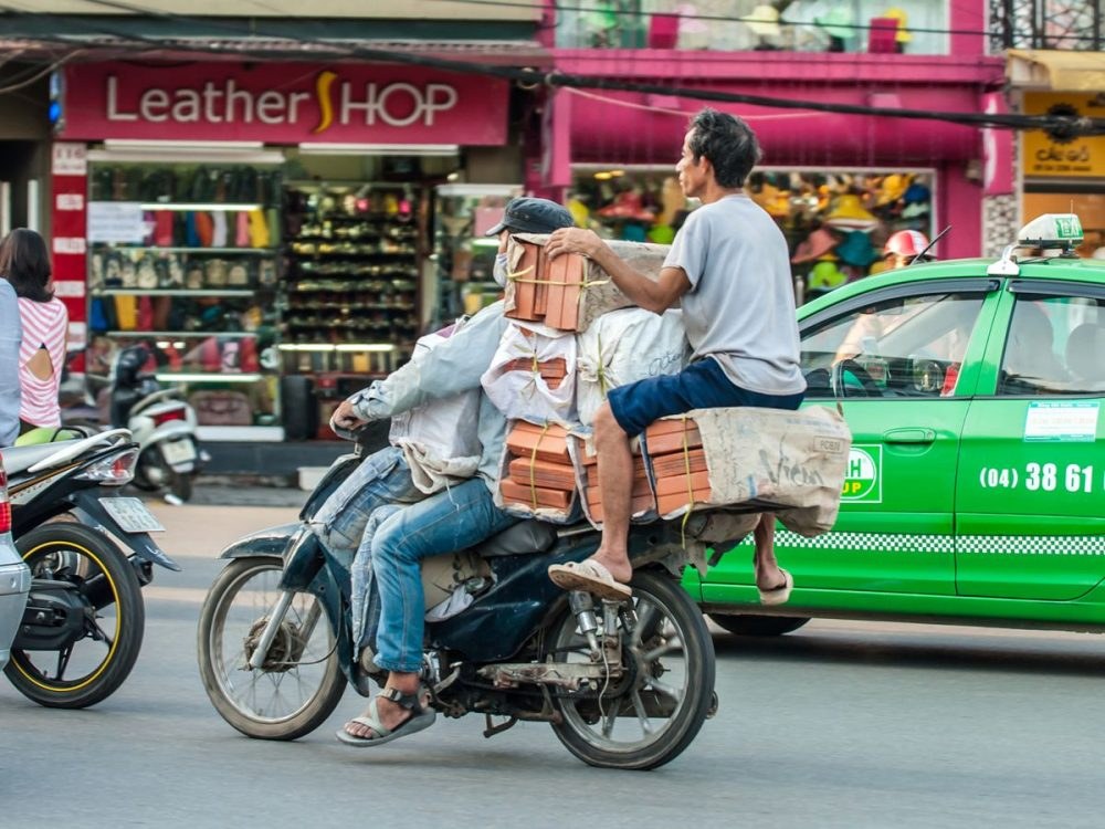 Funny facts about transportation in Vietnam