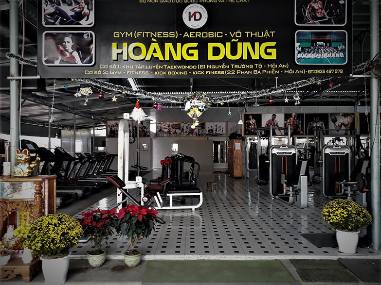 Hoang Dung gym and fitness center in Hoi An