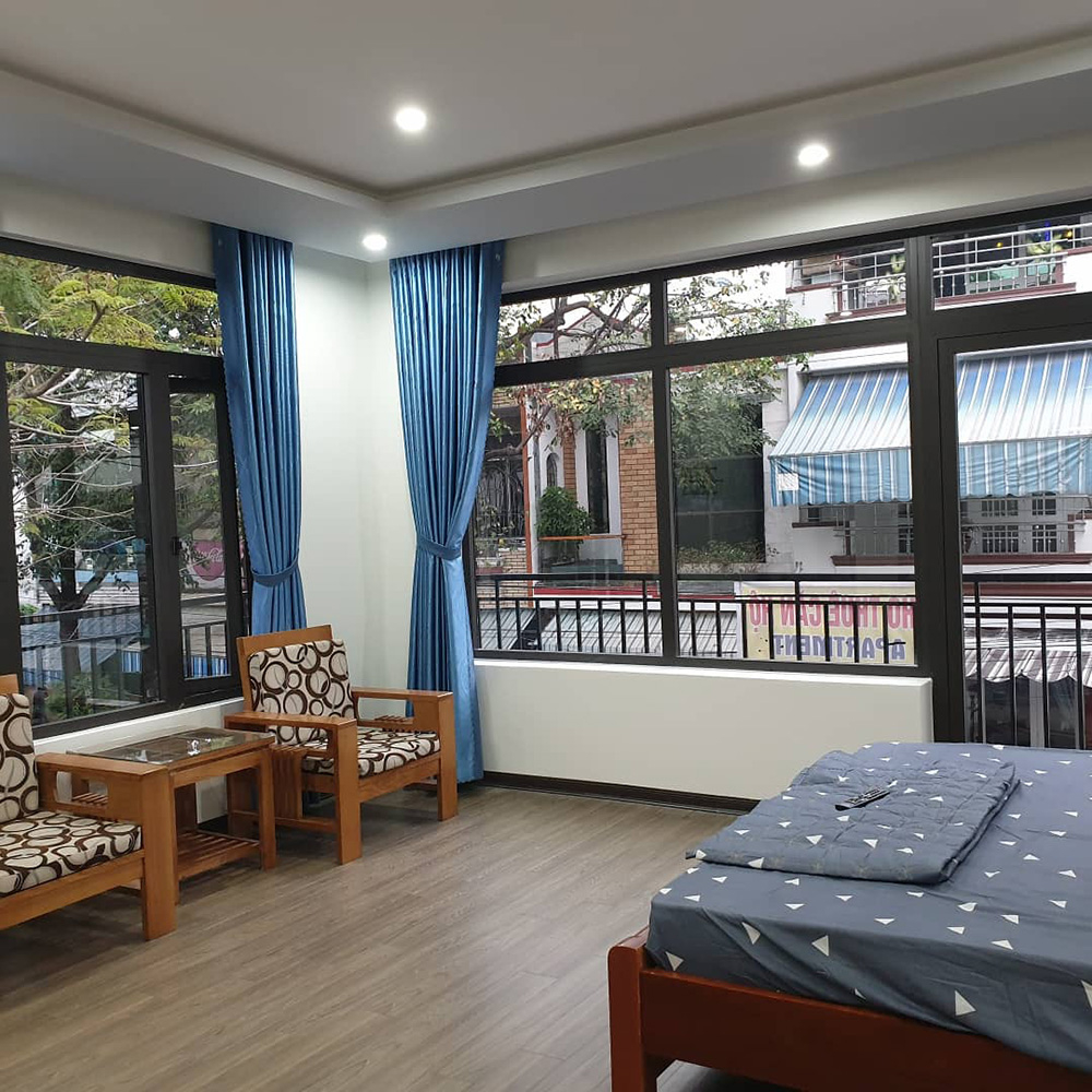 For Rent Efficiency: Airy Studio For Rent In Danang Near Dragon Bridge And Love