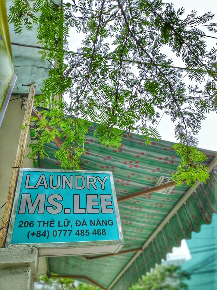 Good place for laundry in Da Nang