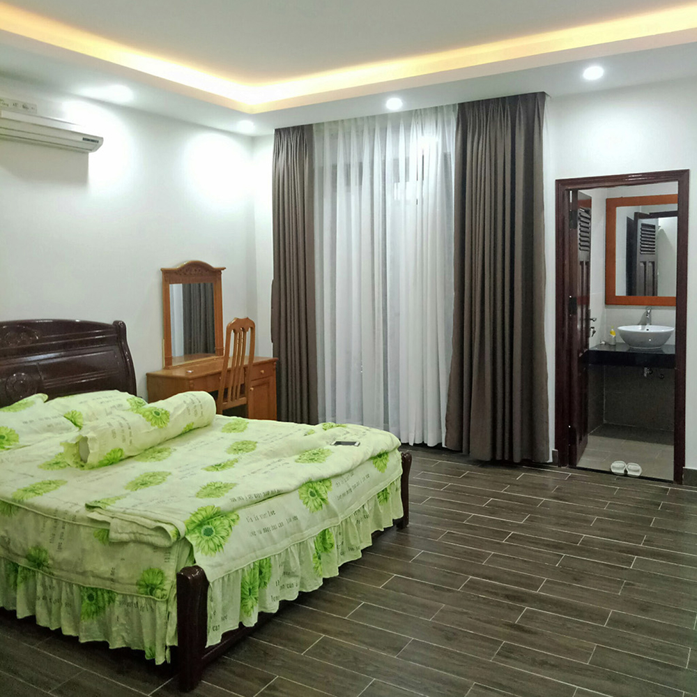 Danang house for rent cozy bedroom