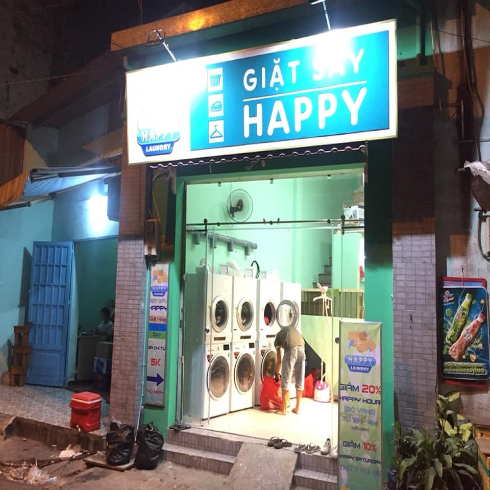 Laundry service in Ho Chi Minh