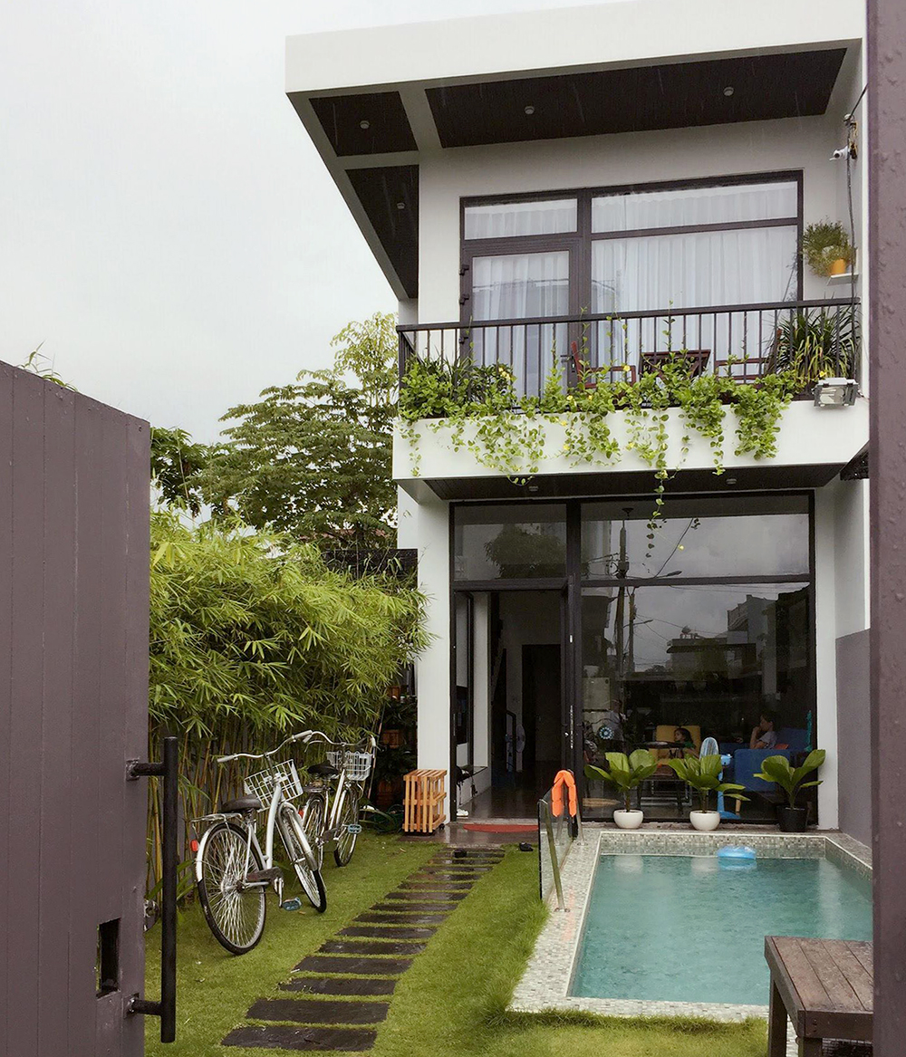 Luxury House For Rent In Da Nang Vietnam With A Pool