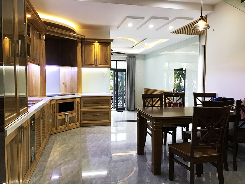 luxury house for rent in Danang near the beach kitchen 2
