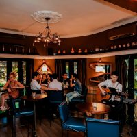 Below – an amazing and romantic spot to chill out in Ho Chi Minh