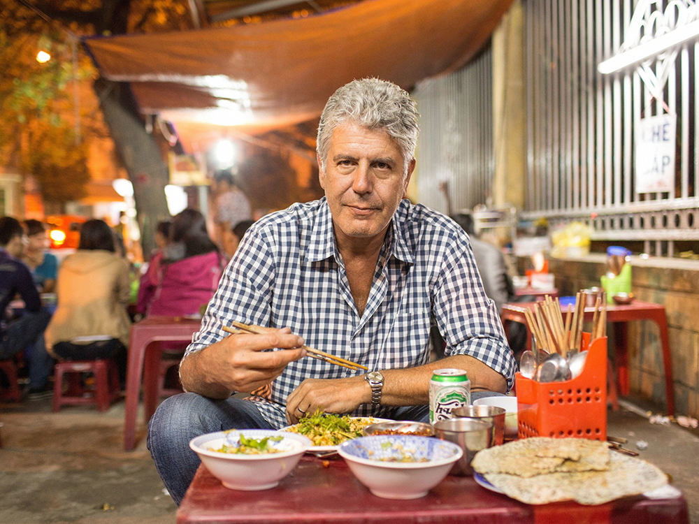 Vietnam food street food Anthony Boudain