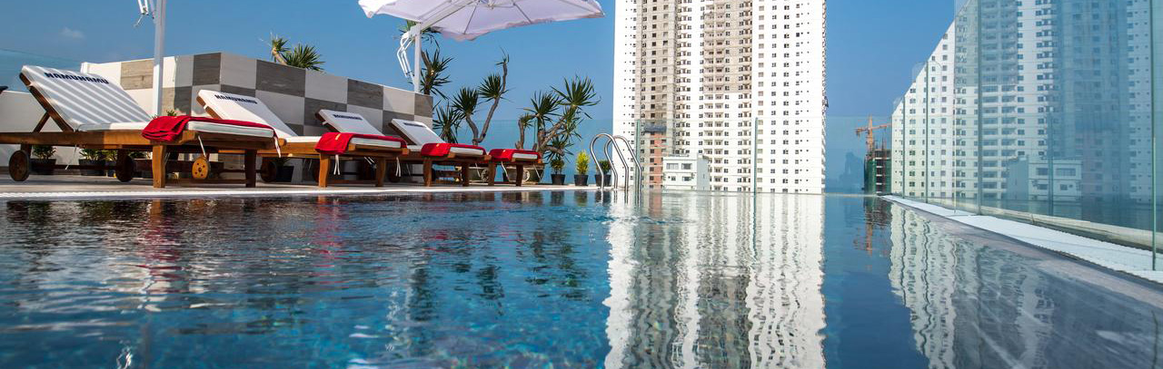 Find an apartment for rent in Danang Vietnam with a pool