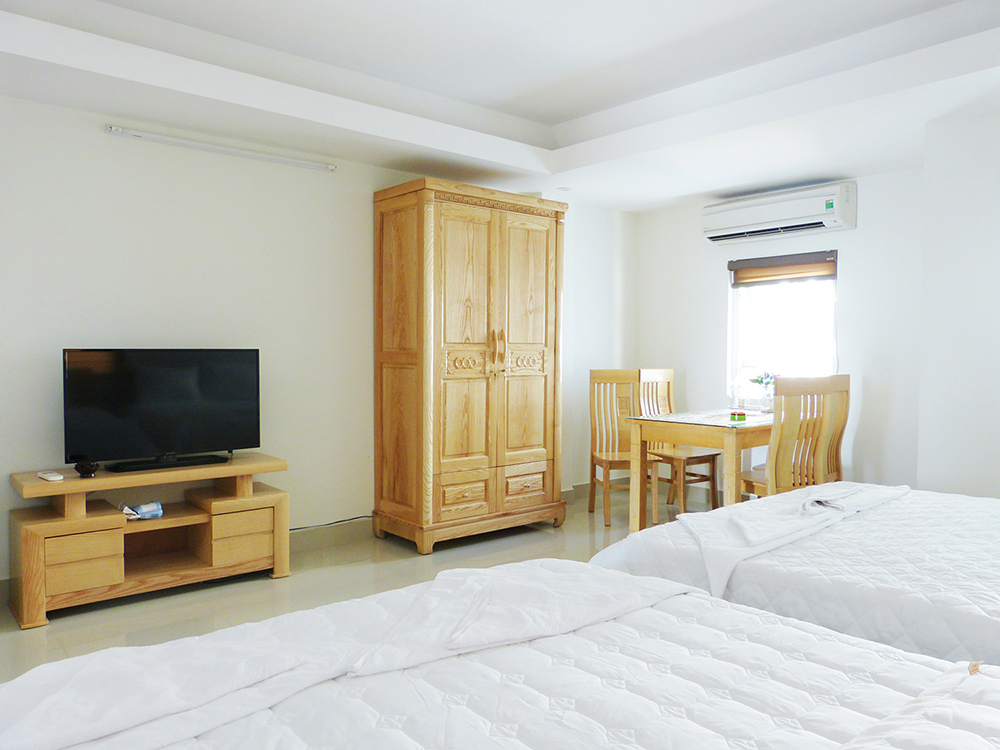 apartment near beach in Da Nang Thanh House bedroom