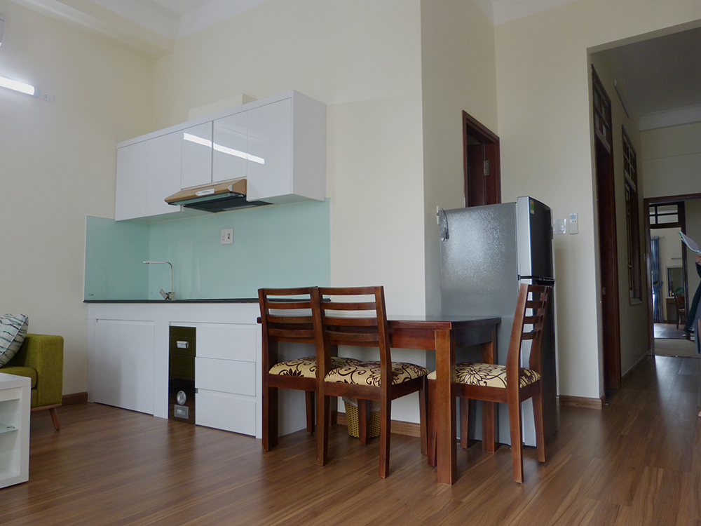 apartment near beach in Da Nang Xinh Xinh kitchen