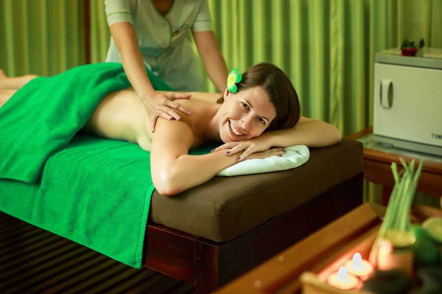 body massage brings the comfortable