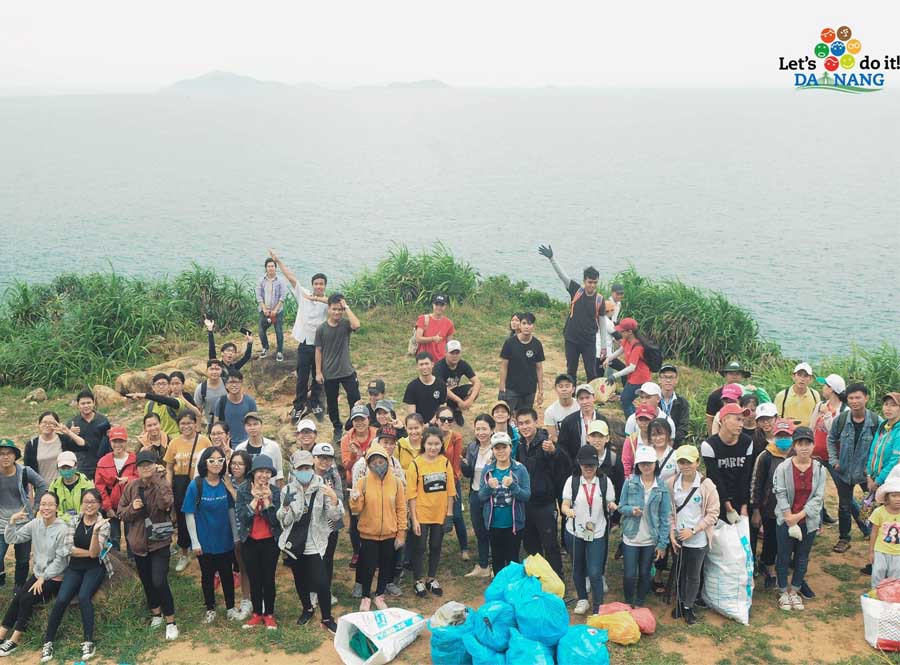 the clean up campaign to save Vietnam environment