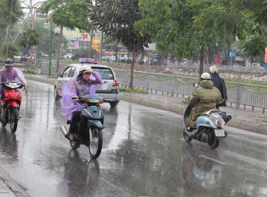 summer time is also the rainny season in da nang weather