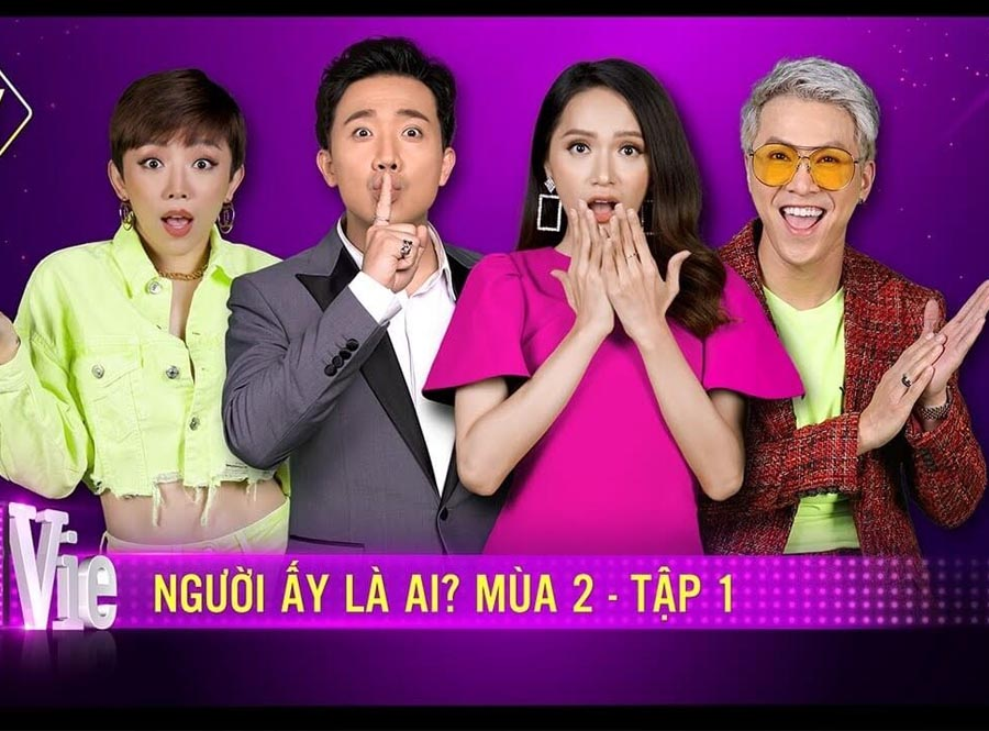 nguoi ay la ai is also a hot game show in vietnam this year