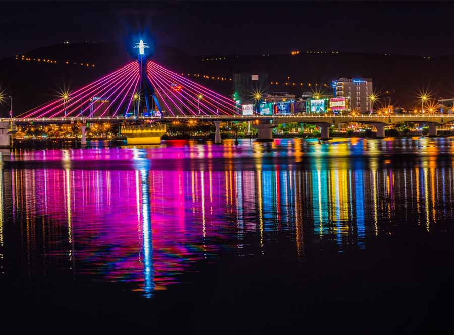 the traditional symbol of the city must be in your list of things to do in da nang