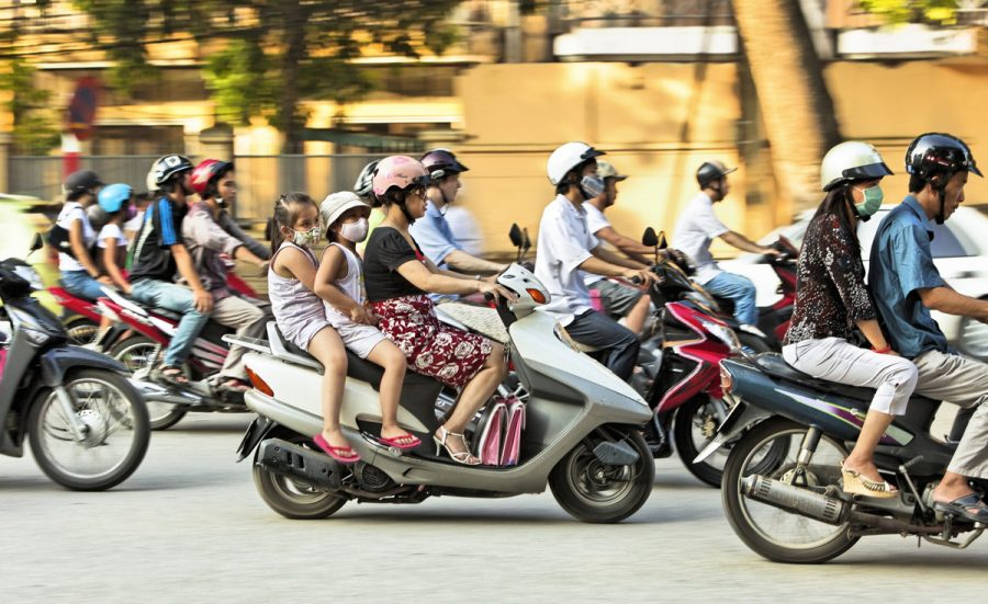 learn how to ride motorbike for vietnam travel