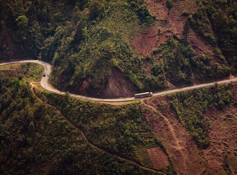 the road to mu cang chai