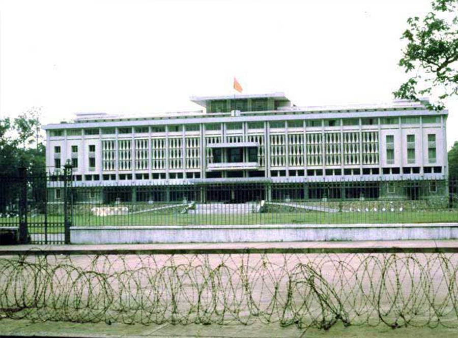 independence palace is the top of places to visit in ho chi minh city