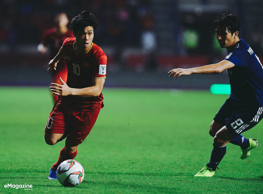 Cong Phuong is the brightest star in the national team