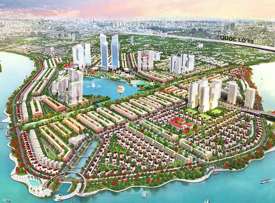 the goverment plan in developing the riverside area